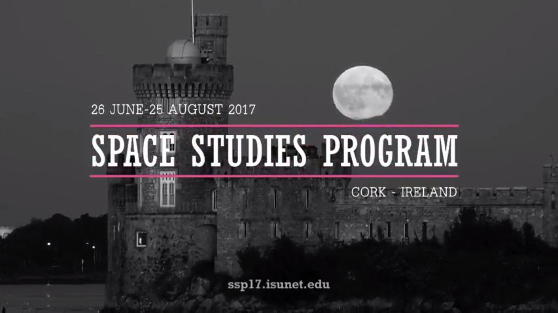 Introduction to SSP17 Cork, Ireland